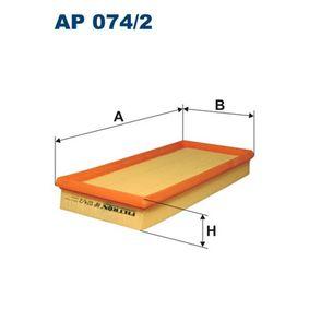 Luftfilter Länge: 320mm, Breite: 148mm, Höhe: 42mm mit OEM-Nummer F43X-9601-BB