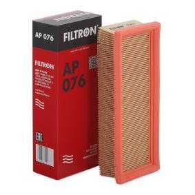 Luftfilter Länge: 230mm, Breite: 90mm, Höhe: 49mm, Länge: 230mm mit OEM-Nummer 46536382