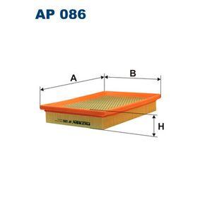 Luftfilter Länge: 244mm, Breite: 178mm, Höhe: 41mm mit OEM-Nummer 71 736 139