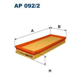Air Filter AP 092/2 PUNTO (188) 1.2 16V 80 MY 2004