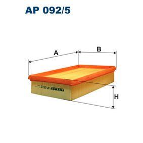 Filtro de aire AP 092/5 STILO (192) 1.9 JTD ac 2004
