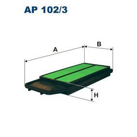 Filtro de aire AP 102/3 Accord 7 Limousine (CL, CN) 2.4 ac 2008