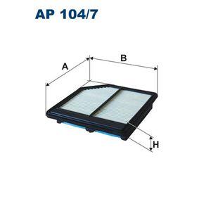 Air Filter AP 104/7 CIVIC 8 Hatchback (FN, FK) 1.8 (FN1, FK2) MY 2012