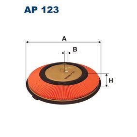Luftfilter Höhe: 42mm mit OEM-Nummer 16546 77A10