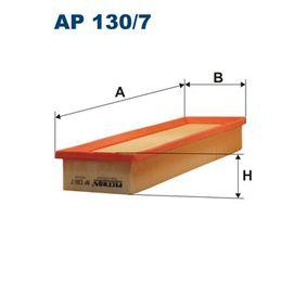Filtro aria Lunghezza: 335mm, Largh.: 102mm, Alt.: 45mm, Lunghezza: 335mm con OEM Numero 1444VJ