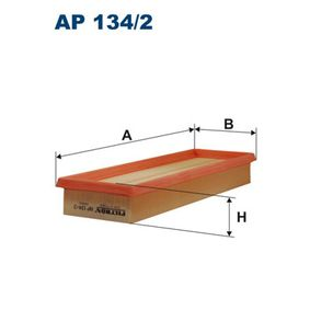 Luftfilter AP 134/2 Scénic 1 (JA0/1_, FA0_) 1.9 dTi Bj 2000