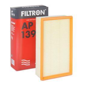 Luftfilter Länge: 292mm, Breite: 176,5mm, Höhe: 70mm mit OEM-Nummer 5Q0 129 620D