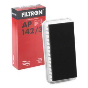Luftfilter Länge: 287mm, Breite: 149mm, Höhe: 56mm, Länge: 287mm mit OEM-Nummer 15208-31U0B