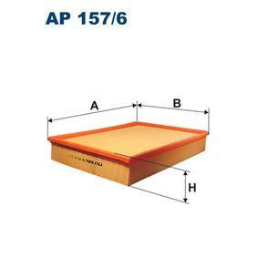 FILTRON  AP 157/6 Luftfilter Länge: 355mm, Breite: 265mm, Höhe: 57mm