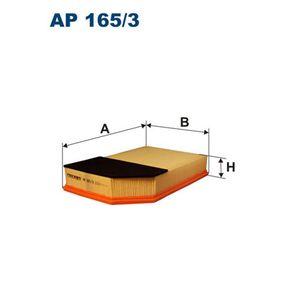 Luftfilter Länge: 328mm, Breite: 216mm, Höhe: 57mm mit OEM-Nummer 8 638 600