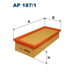 Въздушен филтър AP 187/1 25 Хечбек (RF) 2.0 iDT Г.П. 2001