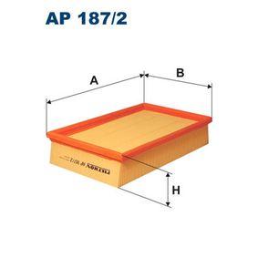 Въздушен филтър AP 187/2 800 (XS) 2.0 I/SI Г.П. 1993