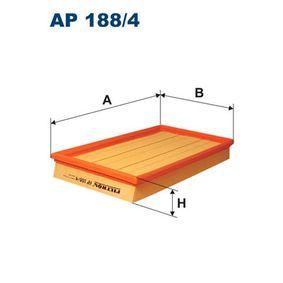 Filtro aria Lunghezza: 303mm, Largh.: 174mm, Alt.: 42mm, Lunghezza: 303mm con OEM Numero 4876199