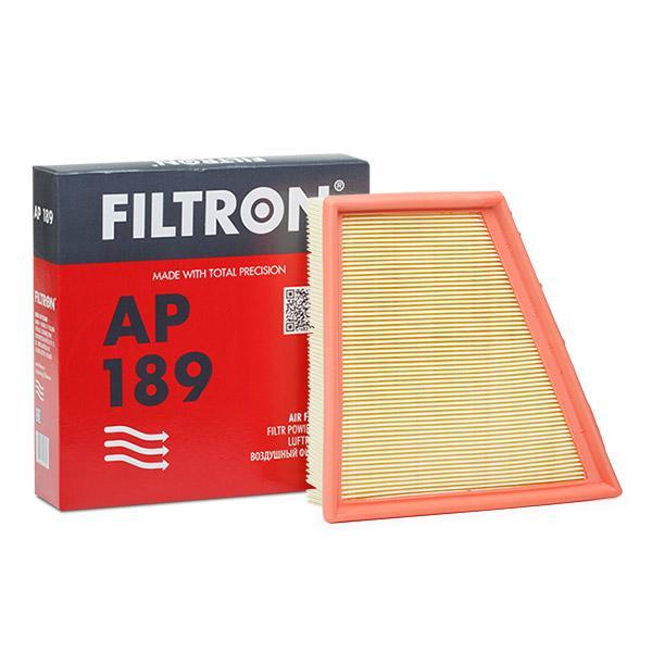 FILTRON  AP 189 Filtru aer Lungime: 213mm, Latime 1: 216mm, Latime 2: 127mm, Înaltime: 58mm