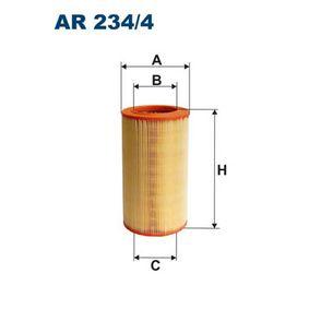 LANCIA Delta III (844) 1.4 Luftfilter FILTRON AR 234/4 (1.4 Benzin 2010 198 A4.000)