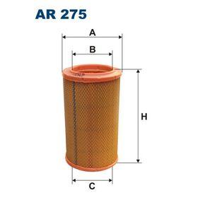 Renault Kangoo kc01 1.6 Luftfilter FILTRON AR 275 (1.6 Benzin 2000 K7M 746)