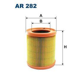 Luftfilter Höhe: 180mm mit OEM-Nummer 7701034705