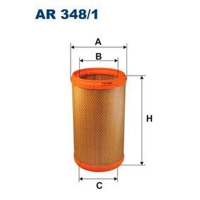 Luftfilter Höhe: 258,5mm mit OEM-Nummer 7786626