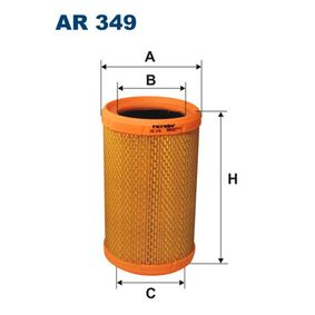 Luftfilter AR 349 TWINGO 2 (CN0) 1.2 Bj 2020