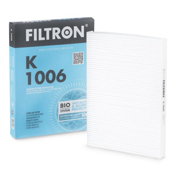 Cabin Air Filter FILTRON K1006 expert knowledge