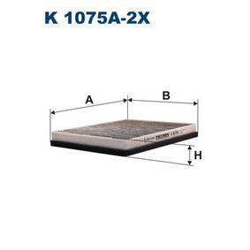 Filter, Innenraumluft Länge: 268mm, Breite: 199mm, Höhe: 31mm mit OEM-Nummer 64118391198
