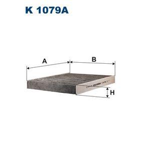 Filter, Innenraumluft Länge: 248mm, Breite: 216mm, Höhe: 30mm mit OEM-Nummer 463 830 0018