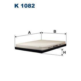 Филтър, въздух за вътрешно пространство K 1082 25 Хечбек (RF) 2.0 iDT Г.П. 2002