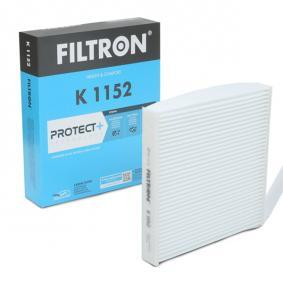 Filter, interior air K 1152 Note (E11, NE11) 1.5 dCi MY 2011