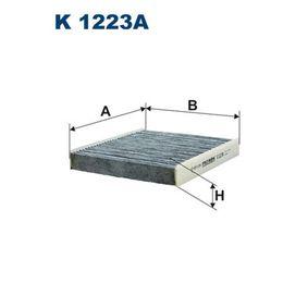 Filter, Innenraumluft Länge: 240mm, Breite: 203mm, Höhe: 35mm mit OEM-Nummer 52 420 930