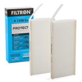 Filter, Innenraumluft Länge: 240mm, Breite: 108mm, Höhe: 20mm mit OEM-Nummer 93 19 7779