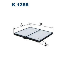 Filter, Innenraumluft Länge: 194mm, Breite: 203mm, Höhe: 10mm mit OEM-Nummer 96 425 700