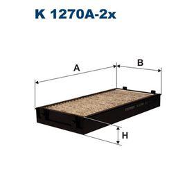 Filter, Innenraumluft Länge: 292mm, Breite: 145mm, Höhe: 34mm mit OEM-Nummer 6411 9 248 294