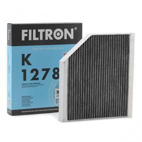 Filter, Innenraumluft Länge: 241mm, Breite: 279mm, Höhe: 35mm mit OEM-Nummer 8K0819439A