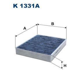 Filter, Innenraumluft Länge: 248mm, Breite: 198mm, Höhe: 40mm mit OEM-Nummer 64116821995
