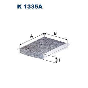Filter, Innenraumluft Länge: 221mm, Breite: 157mm, Höhe: 30mm mit OEM-Nummer 71775824