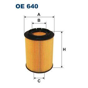 FILTRON  OE 640 Ölfilter Ø: 83mm, Innendurchmesser 2: 39,5mm, Innendurchmesser 2: 23,5mm, Höhe: 110,5mm