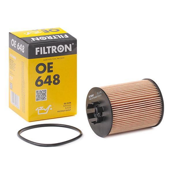 Ölfilter FILTRON OE648 Erfahrung