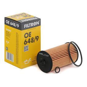 FILTRON  OE 648/9 Ölfilter Ø: 57mm, Innendurchmesser 2: 21mm, Innendurchmesser 2: 25,3mm, Höhe: 105,9mm
