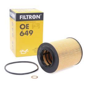 Ölfilter Innendurchmesser 2: 43mm, Innendurchmesser 2: 43mm, Höhe: 104mm mit OEM-Nummer 1142 7 509 430
