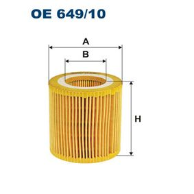 Ölfilter Ø: 73,5mm, Innendurchmesser: 41mm, Innendurchmesser 2: 41mm, Höhe: 79mm mit OEM-Nummer 11-42-7-640-862
