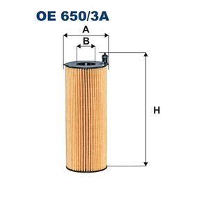 Ölfilter Ø: 76mm, Innendurchmesser 2: 29mm, Innendurchmesser 2: 29mm, Höhe: 200mm mit OEM-Nummer 057 115 561L