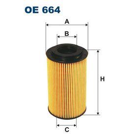 FILTRON  OE 664 Ölfilter Ø: 65mm, Innendurchmesser 2: 30,3mm, Höhe: 113mm