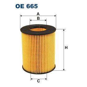 Ölfilter Innendurchmesser 2: 29,5mm, Innendurchmesser 2: 29,5mm, Höhe: 73mm mit OEM-Nummer LF01-14-302-9A