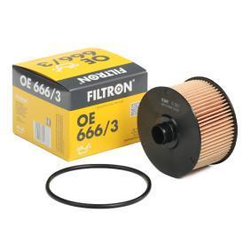 FILTRON  OE 666/3 Ölfilter Ø: 90mm, Innendurchmesser: 20,5mm, Höhe: 63,5mm