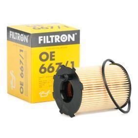 Oil Filter OE 667/1 FIESTA 6 1.6 TDCi MY 2015