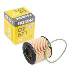 FILTRON  OE 671 Ölfilter Ø: 65mm, Innendurchmesser 2: 31,5mm, Höhe: 62mm
