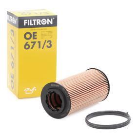 Touran 1T1, 1T2 2.0FSI Ölfilter FILTRON OE 671/3 (2.0 FSI Benzin 2005 AXW)