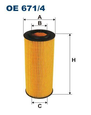 FILTRON  OE 671/4 Ölfilter Innendurchmesser 2: 31,5mm, Innendurchmesser 2: 31,5mm, Höhe: 154mm