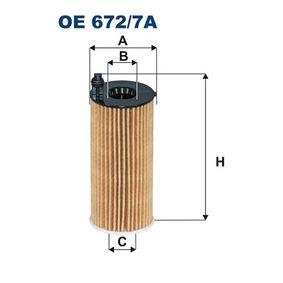Oil Filter OE 672/7A 3 Saloon (F30, F80) 318i 1.5 MY 2016