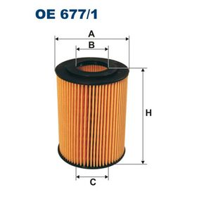 Oil Filter OE 677/1 E-Class Saloon (W212) E 350 CDI 3.0 MY 2013